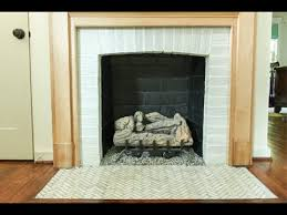 fireplace and change grout color