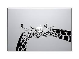 Giraffe Love Vinyl Custom Decal Sticker 13 Apple Laptop Macbook Pro In Computers Tablets Networking Laptop Deskto Ipad Decal Apple Stickers Unique Decals