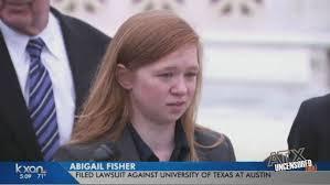 Abigail Fisher v. University of Texas at Austin: Does It Really Matter? -  VOX ATL