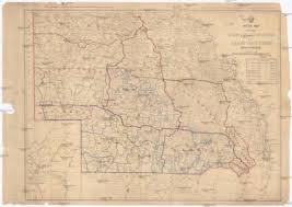 Sketch Map Shewing Rabbit Board Districts And Rabbit Proof Fence Queensland