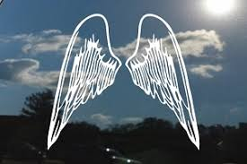 Angel Wings Decals Stickers Decalboy