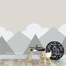 274 165cm Diy Mountain Decor Wall Decal For Baby Nursery Careative Vinyl Home Decoration Wall Stickers Mountains Murals Lc1239 Wall Stickers Aliexpress