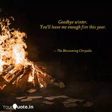 goodbye winter you ll le quotes writings by asfa mobin