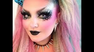 glam rock makeup tutorial you