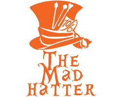 Alice In Wonderland The Mad Hatter Vinyl Decal Car Truck Etsy