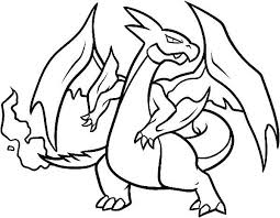 Mega Charizard X Drawing Free Download On Clipartmag