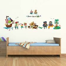 Pirate Themed Wall Decals Childrens Tractor With Name Rainbow Design Lego Vinyl Custom Art Vamosrayos