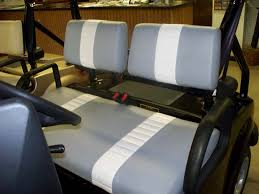 staple on seat cover sets two stripe