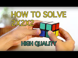 how to solve a 2x2x2 rubik s cube