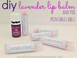 diy lavender lip balm with free