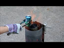 smelting aluminum cans hard drive