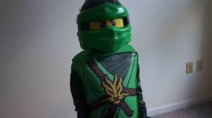 LEGO Ninjago LLoyd Deluxe Kids Costume - Halloween cosume - YouTube