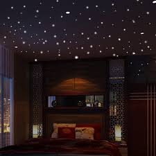 Glow In The Dark Star Wall Stickers 407pcs Round Dot Luminous Kids Room Decor Walmart Com Walmart Com