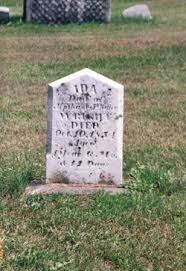 Ida Wright (1853-1854) - Find A Grave Memorial