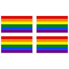 Amazon Com Bargain Max Decals Lgbt Rainbow Gay Pride Flag Sticker Decal Notebook Car Laptop 4 X 5 Color Everything Else
