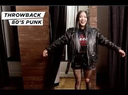 thursdays 80 s punk style
