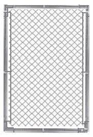 Galv Chain Link Fence Gate 3x4 Chainlink Fence Parts Kit