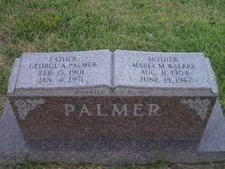 Mabel Myra Walker Palmer (1904-1967) - Find A Grave Memorial