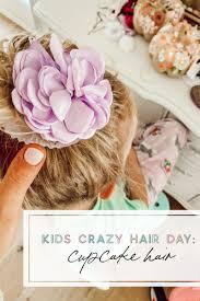 crazy hair day cupcake hair more