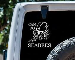 Seabee Decal Etsy
