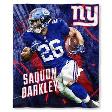 Ny Giants Saquon Barkley Silk Touch Throw