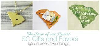 south carolina themed wedding gifts