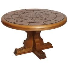 solid walnut coffee centre table with