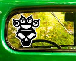 2 Five Finger Death Punch Decal Stickers Bogo For Car Bumper Laptop Window Jeep Ebay
