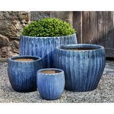indoor outdoor ceramic planters for