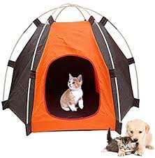 Cat Nest Dog Nest Portable Pet Dog Cat Outdoor Folding Tent Camping Mesh Pet Fun Carry Bag Puppy Kennel Fence Outdoor Pet Supplies Orange Amazon Ae