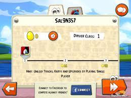 Angry Birds Go Multiplayer Progress