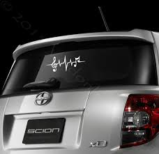 Music Note Car Decal Heartbeat Car Sticker Laptop Decal Music Car Decal Music Laptop Decal Music Auto Decal Music Stickers Inspirational Gifts Car Decals