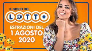 Estrazione lotto 1 agosto 2020: 10 e Lotto, SuperEnalotto e Simbolotto