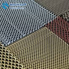 China Colorful Decorative Metal Chain Mesh Curtain For Canada China Decorative Wire Mesh Metal Mesh Curtain