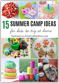 How To Plan A Summer Camp At Home For Kids