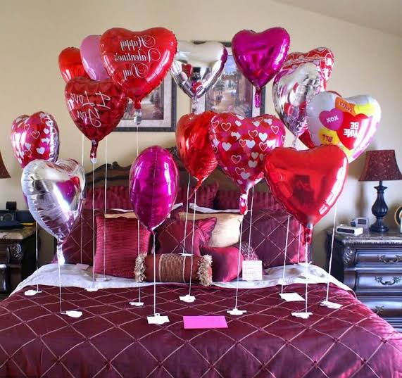 Valentine's day room decoration date ideas