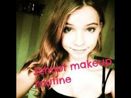 my makeup routine 13 years old
