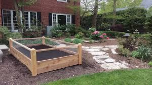 1 Valpak One Raised Garden Beds With Rabbit Fencing