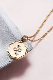 infinity charm necklace in 2020
