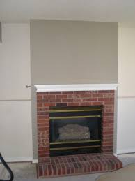 brick fireplace remodel should red
