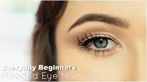 beginner eye makeup for hooded eye