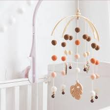 2020 Baby Mobile Bed Bell Silicone Beads Beech Wood Bird Rattles Kids Room Bed Hanging Decor Wood Rodent Children Products Toys T200429 From Xue07 12 86 Dhgate Com
