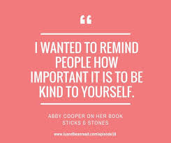 LBR 018: Sticks and Stones - Overcoming Bullying and Being Your Best Self  with Author Abby Cooper - Lu and Bean Read   Middle grade books, Author,  Best self