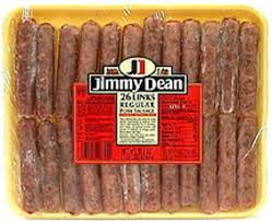 jimmy dean pork sausage links regular