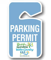 7 day parking p for busch gardens