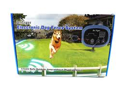Dogs Collar Send Beeps And Shock Correction Training Behavior Aids Dr Tiger 2 Receiver Electric Dog Fence Training Behavior Aids Dogs