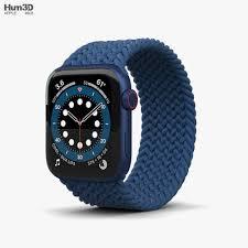 Apple Watch Series 6 44mm Aluminum Blue ...