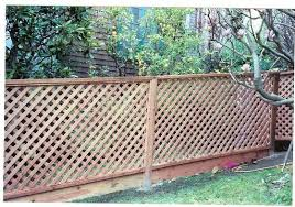 Lattice Panel Peninsula Fence Lattice Fence Backyard Fences Fence Landscaping