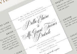 wording your perfect wedding invitation