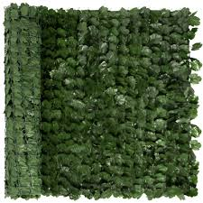 Best Choice Products 94x39in Artificial Faux Ivy Hedge Privacy Fence Screen For Outdoor Decor Garden Yard Green Walmart Com Walmart Com
